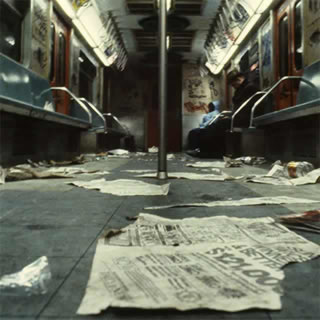 CHRISTOPHER MORRIS « 1981 NEW YORK SUBWAY »