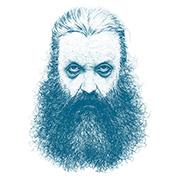 ALAN MOORE « THE WIZARD OF NORTHAMPTON » (CUT-UP)